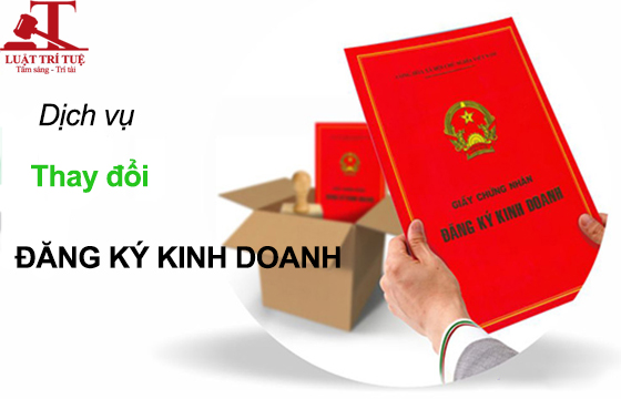 Dịch vụ thay đổi đăng ký kinh doanh