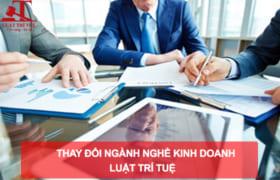 Dịch vụ thay đổi ngành nghề kinh doanh