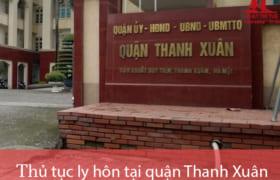 Thủ tục ly hôn thuận tình & đơn phương tại TAND quận Thanh Xuân
